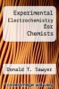 cover of Experimental Electrochemistry for Chemists