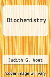 Cover of Biochemistry 3 (ISBN 978-0471770046)