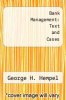 cover of Bank Management: Text and Cases (2nd edition)