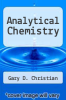 cover of Analytical Chemistry (4th edition)