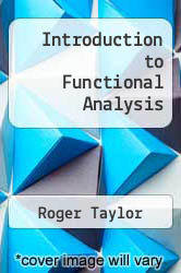 Cover of Introduction to Functional Analysis 2 (ISBN 978-0471846468)