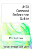 cover of UNIX Command Reference Guide
