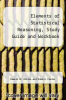 cover of Elements of Statistical Reasoning, Study Guide and Workbook