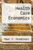 cover of Health Care Economics (2nd edition)