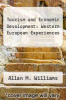 cover of Tourism and Economic Devolopment: Western European Experiences (2nd edition)