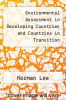 cover of Environmental Assessment in Developing Countries and Countries in Transition (1st edition)