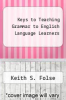 cover of Keys to Teaching Grammar to English Language Learners, Second Ed.