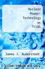 cover of Nuclear Power: Technology on Trial