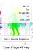 cover of Words for Students of English
