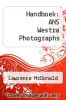 cover of Handboek: ANS Westra Photographs