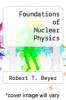 cover of Foundations of Nuclear Physics