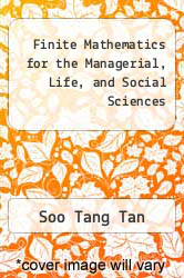Cover of Finite Mathematics for the Managerial, Life, and Social Sciences 8 (ISBN 978-0495010289)