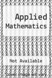 Cover of Applied Mathematics EDITIONDESC (ISBN 978-0495106586)