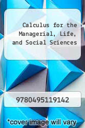Cover of Calculus for the Managerial, Life, and Social Sciences 7 (ISBN 978-0495119142)