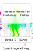 cover of Research Methods in Psychology - Package (8th edition)