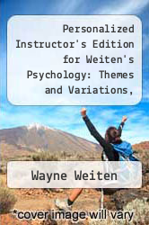 Cover of Personalized Instructor