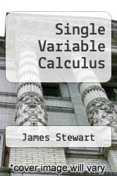 Cover of Single Variable Calculus 6 (ISBN 978-0495382447)