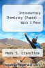 Introductory Chemistry (Paper) - With 1 Pass by Mark S. Cracolice - ISBN 9780495414964