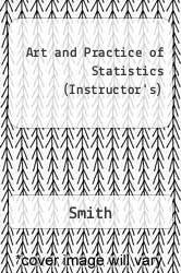 Cover of The Art and Practice of Statistics: Instructor