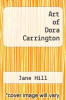 cover of Art of Dora Carrington