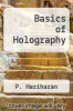cover of Basics of Holography