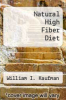 cover of Natural High Fiber Diet