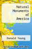 cover of Natural Monuments of America