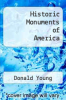 cover of Historic Monuments of America