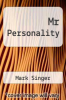 cover of Mr Personality