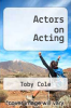 cover of Actors on Acting