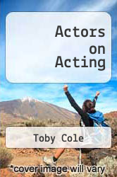Cover of Actors on Acting EDITIONDESC (ISBN 978-0517502990)