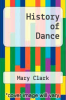 cover of History of Dance