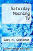 cover of Saturday Morning TV