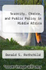 cover of Scarcity, Choice, and Public Policy in Middle Africa