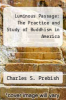 cover of Luminous Passage: The Practice and Study of Buddhism in America (1st edition)
