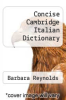 cover of Concise Cambridge Italian Dictionary