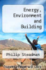 cover of Energy, Environment and Building