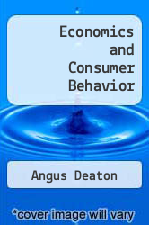 Cover of Economics and Consumer Behavior EDITIONDESC (ISBN 978-0521228503)