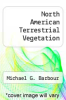 cover of North American Terrestrial Vegetation