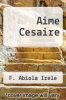 cover of Aime Cesaire