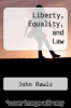 cover of Liberty, Equality, and Law