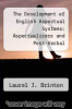 cover of The Development of English Aspectual Systems: Aspectualizers and Post-Verbal Particles