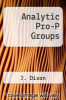 cover of Analytic Pro-P Groups