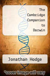 Cover of The Cambridge Companion to Darwin EDITIONDESC (ISBN 978-0521771979)