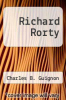 cover of Richard Rorty