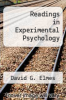cover of Readings in Experimental Psychology
