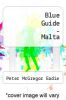 cover of Blue Guide - Malta (2nd edition)