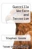 cover of Guerrilla Warfare and Terrorism