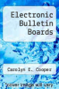 cover of Electronic Bulletin Boards