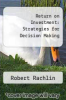 cover of Return on Investment: Strategies for Decision Making